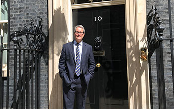 Our Chief Executive heads to Number 10 Downing Street