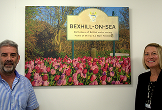 Photographs snapped up by The Orangery in Bexhill!