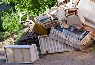 We're working with local authorities to help prevent fly tipping in Sussex