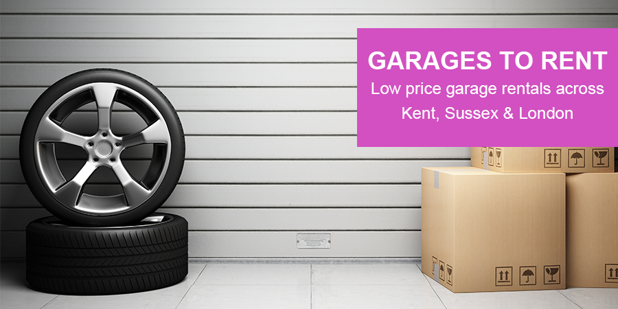Image: Garage to rent at low prices across Kent, Sussex and London