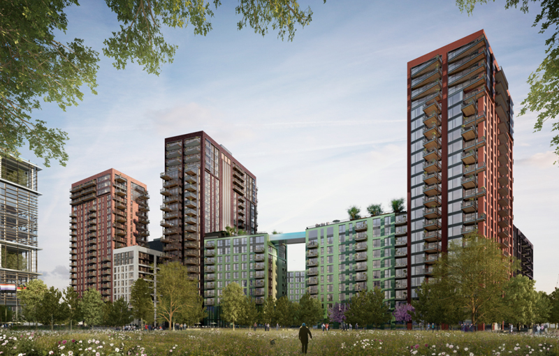 Embassy Gardens, Nine Elms, Battersea