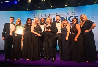 Legal Team Wins Excellence Award