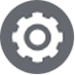 Image: Custom settings tool (cog wheel icon)