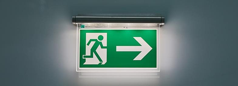 IMAGE: Fire Exit sign
