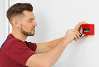 Image: Fire Alarm Engineer