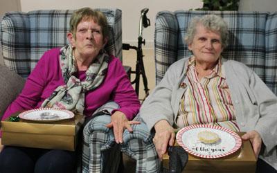 Residents enjoying events