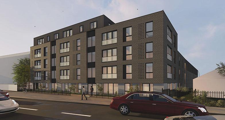 IMAGE: CGI of Ladywood, Birmingham, development