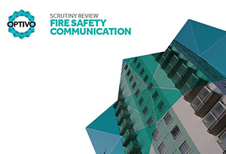 IMAGE: The front cover of the Fire Safety Communication report