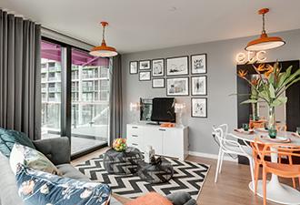IMAGE: Internal shot of Riverlight apartment