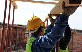IMAGE: Builders at work